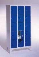 Garderoben- Stahlspinde Breite 1200 mm (Bestell.-Nr. 5.8010-32-001)