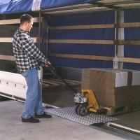 Schwerlast-Überfahrbrücken, Tragkraft 1200 kg, Breite 1250 mm, Länge 1200 mm