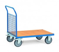 Plattformwagen mit Gitterwänden 500 kg Tragkraft