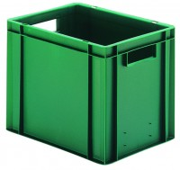Transport-Stapelkästen aus Polypropylen (PP), Wände und Boden geschlossen (Bestell-Nr. 4.0743222-02)