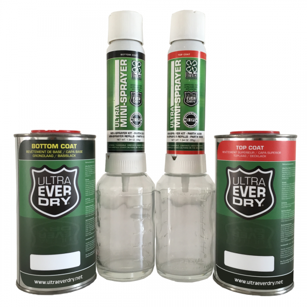 Ultra Ever Dry - SET, 500 ml + 2 Sprayer