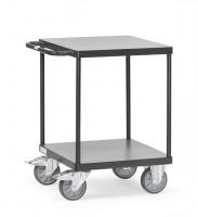 Schwerer Tisch- und Montagewagen, quadratische Ladefläche, 500 kg Tragkraft
