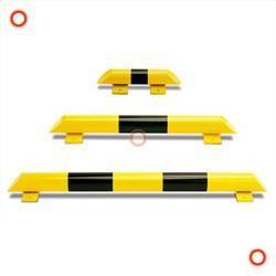 Rammschutzbalken, gelb/schwarz, 3 Größen