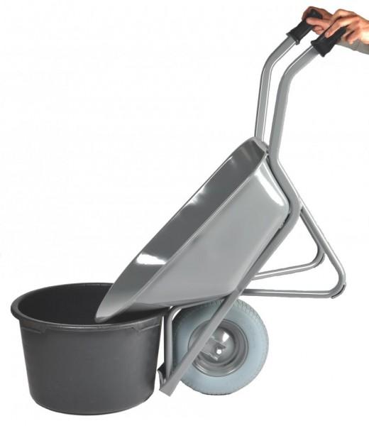 Schubkarre-Bauschubkarre - EASY RIDER, 80 Liter, pannensichere Reifen