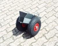 Plattenroller, Luft-Reifen, 200 kg Tragkraft