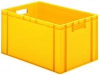 Transport-Stapelkästen TK 600 (PP), Wände und Boden geschlossen (Bestell.-Nr. 4.0713222-01)