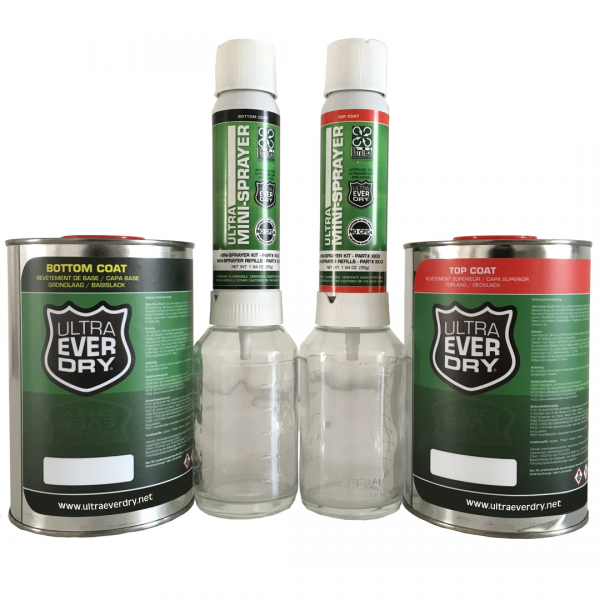 Ultra Ever Dry - Set, 1000 ml + 2 Sprayer