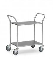 Servierwagen mit festen Böden, 100 kg Tragkraft
