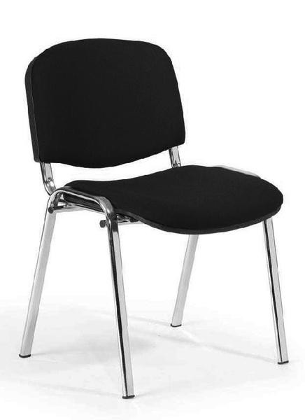 Besucherstühle, Set 4 Stück, verchromt