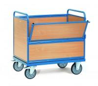 Kastenwagen, Holz, 500 kg Tragkraft