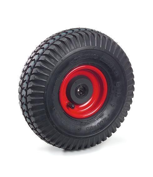 PU-Räder, 150 kg Tragkraft, 260x85 mm, pannensicher