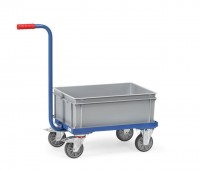 Griffroller mit abnehmbaren Kunststoffkasten 250 kg Tragkraft