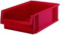 Sichtlagerkästen PLK 1c aus Polypropylen (PP), stapelbar (Bestell-Nr. 4.0125002-21)