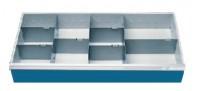 Schubladeneinsatz Höhe 150 mm, Breite 980 mm