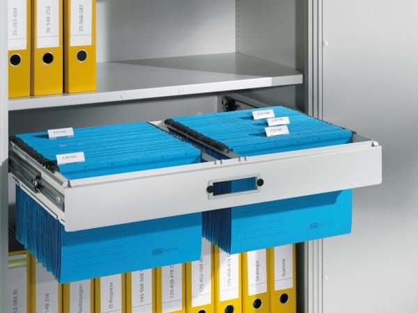 Hängerahmen für DIN A4-Hefter, Schrankbreite 930mm, Tiefe 500 mm