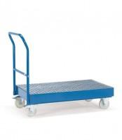 Cash- & Carrywagen, Tragkraft 500 kg, Ladefläche 1000 x 700 mm