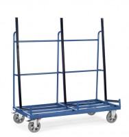 Glasscheiben- und Plattenwagen, einseitig, Länge 1276 mm, 1200 kg Tragkraft