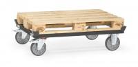 Paletten-Fahrgestelle 500 kg Tragkraft, 1200x800 mm, TPE-Bereifung