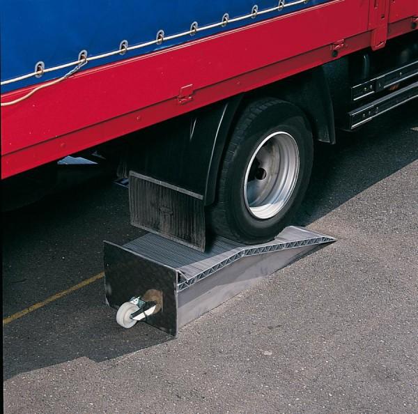 Auffahrkeile für LKW, Tragkraft/Paar 12.000 kg, Höhe 145 mm, 2 Stück Aluminium