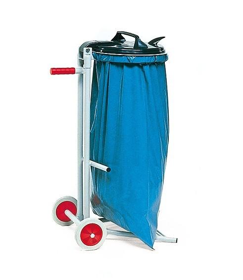 Abfallsammler fahrbar, für 120 Liter Säcke