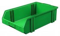 Sichtlagerkästen aus Polystyrol (PS), stapelbar  (Bestell.-Nr. 4.0120001-11)