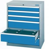 Schubladenschrank - Werkstattschrank, Breite 980 mm, 6 Schubladen