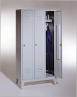 Garderoben- Stahlspinde Breite 1200 mm (Bestell.-Nr. 5.8010-32-008)