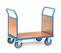 Plattformwagen mit Holzwänden 500 kg Tragkraft