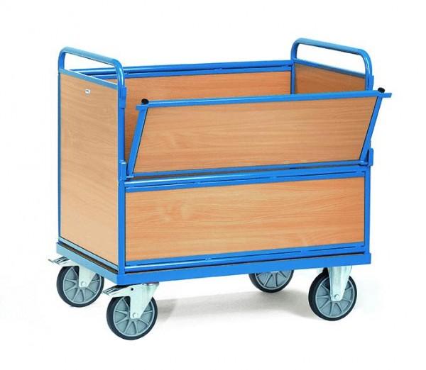 Kastenwagen, Holz, 600 kg Tragkraft, 2 Größen