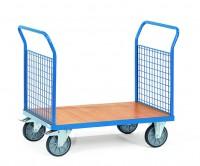 Plattformwagen mit Gitterwänden 400 kg Tragkraft