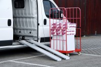 Leichte Verladeschienen, Tragkraft 350 kg/Paar, Länge 3000 mm