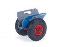 Plattenroller, Vollgummi-Reifen, 250 kg Tragkraft
