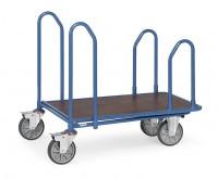 Cash- & Carrywagen mit Seitenbügeln, Tragkraft 500 kg, Ladefläche 1000 x 700 mm