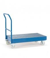 Cash- & Carrywagen, Tragkraft 500 kg, Ladefläche 1000 x 600 mm