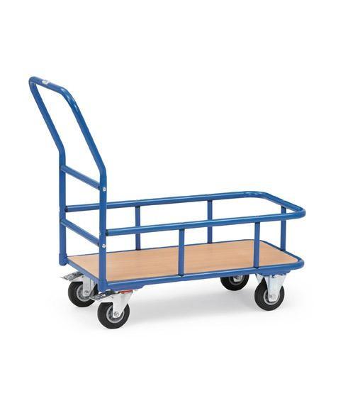 Magazinwagen mit Stahlrohr-Umrandung 200 kg Tragkraft