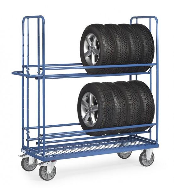 Reifenwagen - Reifenträger 400 kg Tragkraft, 1420x620 mm Ladefläche