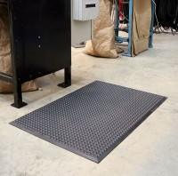 Arbeitsplatzmatte COBAelite®, schwarz 600 x 900 mm