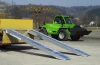 Verladerampen mit Rand, Tragkraft/Paar 2880 kg, Breite 305 mm, Länge 2330 mm