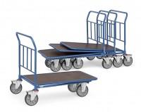 Cash- & Carrywagen, Tragkraft 400 kg, Ladefläche 850 x 500 mm