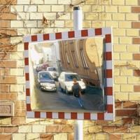 Verkehrsspiegel DURABEL aus Edelstahl für innen und aussen