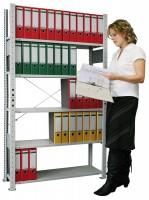 Garagenregal Parcel, lichtgrau 80 kg Tragkraft pro Boden (41.98280)