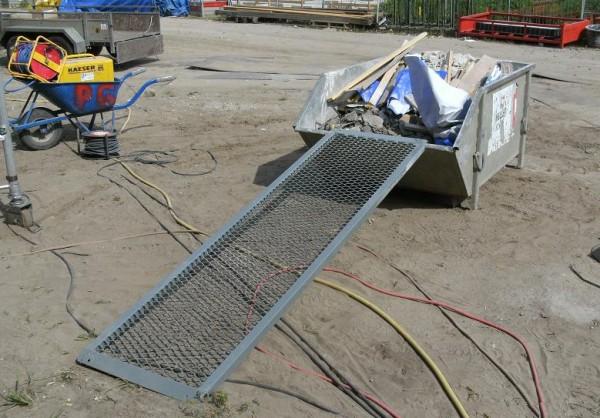 Gitter-Überfahrbrücken MAXI, Tragkraft 200 kg, Breite 600 mm, Länge 1000 mm