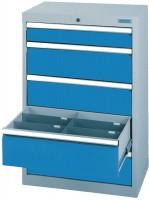 Schubladenschrank - Werkstattschrank, Breite 680 mm, 5 Schubladen