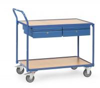 Tischwagen mit Schubladen 300 kg Tragkraft