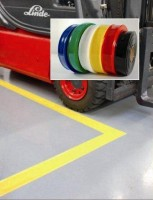 Bodenmarkierungsbänder, selbstklebend, 100 mm Breite