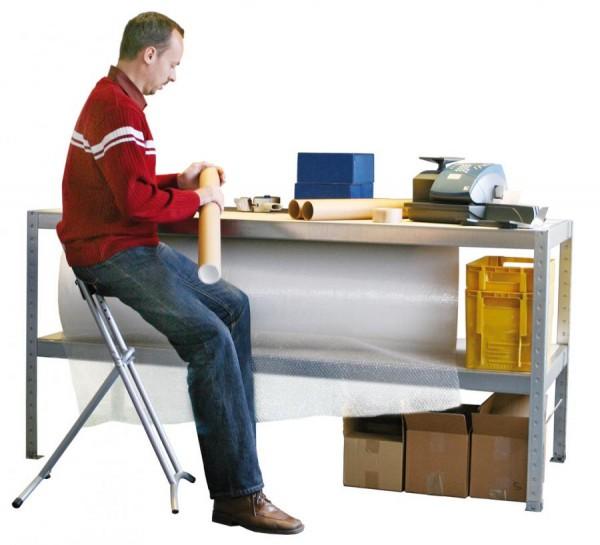 Arbeitstisch + Packtisch, verzinkt 400 kg Tragkraft, in 2 Größen