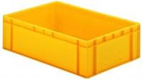 Transport-Stapelkästen TK 600 (PP), Wände und Boden geschlossen (Bestell-Nr. 4.0721722-01)