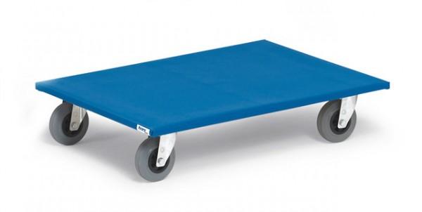 Möbelroller 500 kg Tragkraft - Vollgummi-Reifen -spurlos-
