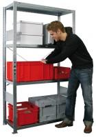 Garagenregal Parcel, verzinkt 150 kg Tragkraft pro Boden