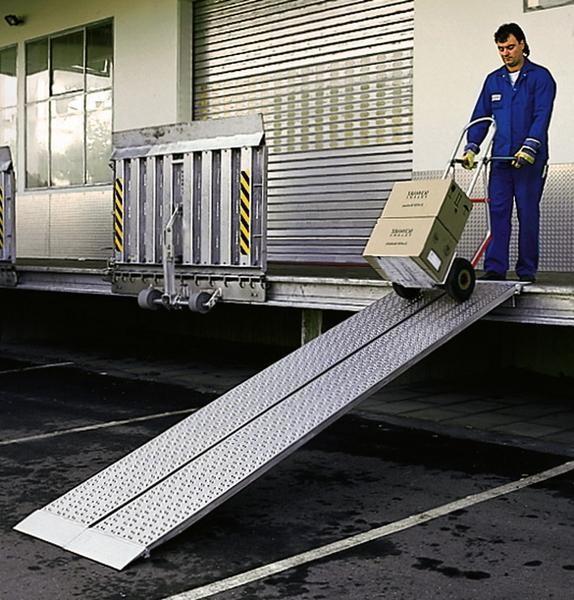 Verladeschienen, Tragkraft 510 kg/Paar, Breite 600 mm, Länge 3000 mm Aluminium